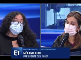 Mélanie Luce interviewée sur Europe 1